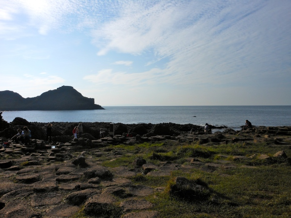 The rocks of Giant's Causeway
